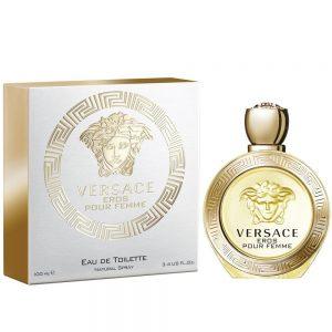 "Versace Eros Eau De Toilette Spray 100ml ארוס אדט לאישה 100 מ""ל ורסצ'ה"