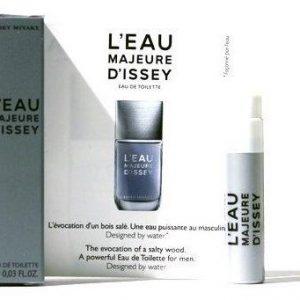 Issey Miyake L'eau Majeure D'issey Eau De Toilette 1 ML Vial בקבוקון 1 מ״ל