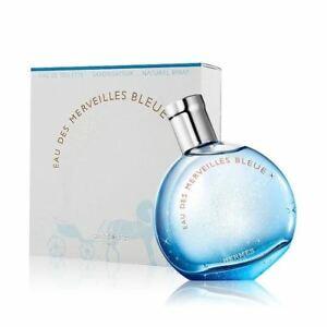 בושם לאשה Hermes Eau Des Merveilles Bleue E.D.T 100ml הרמס או דה מרווייל בלו