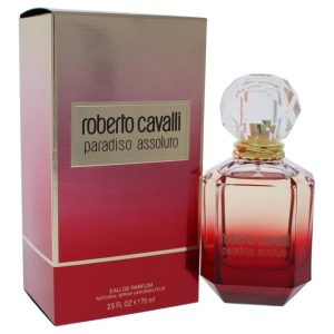Roberto Cavalli Paradiso Assoluto 75 ml רוברטו כבלי פרדיסו אסולוטו א.ד.פ