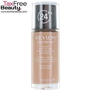 Revlon Cosmetics ColorStay Makeup SPF 20  320 True Beige 30 Ml מייק אפ קולורסטיי 320 עמיד לעור יבש
