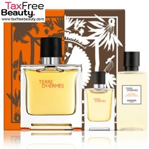 TERRE D'HERMES EAU INTENSE VETIVER FOR MEN SET EDP 100ml + EDP 5ml + HAIR&BODY SHOWER GEL40 ml