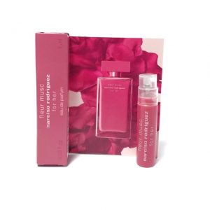 """Narciso Rodriguez Fleur Musc For Her EDT 0.8ML Vial בקבוקון פלור מאסק אדט לאישה 8 מ""""ל"""