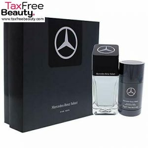 Mercedes-Benz Select  for Men – 2 Pc Gift Set 90 ML  EDT Spray 2.5oz Deodorant Stick