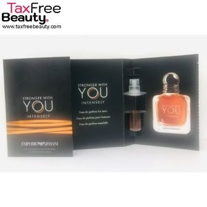 Emporio Armani Stronger With You Intensely MEN 1.2ml VIAL בקבוקון 1.2 מ״ל