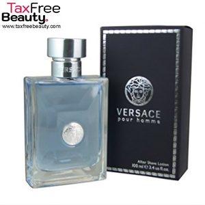"Versace Pour Homme Aftershave 100 ML  ורסצ'ה פור הום אפטר שייב לושן לגבר 100 מ""ל"