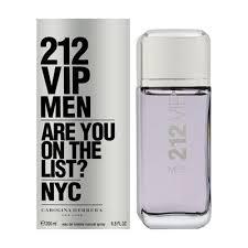 212 VIP Men by Carolina Herrera 200ml Eau de Toilette  בושם לגבר 200 מל