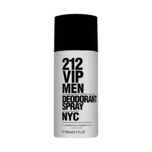 "212 VIP 212 Deodorant Spray for Men 150ml וי.אי.פי 150 מ""ל דאודורנט לגבר קרולינה הררה"