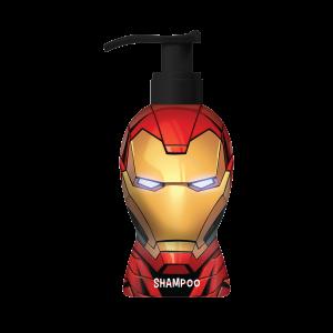 Marvel Iron Man Shampoo 600ml שמפו לשיער איירון מן בגודל 600 מל