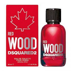 """דסקוורד2 ווד רד לאישה 100 מ""""ל ספריי – DSQUARED2 RED WOOD 100 ml  EAU DE TOILETTE SPRAY"""
