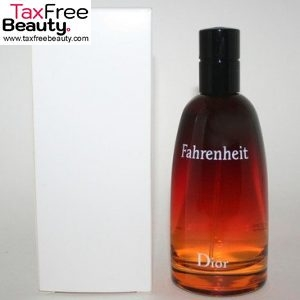 Christian Dior Fahrenheit Men 100ml Eau De Toilette Spray Tester דיור פרנהנייט א.ד.ט