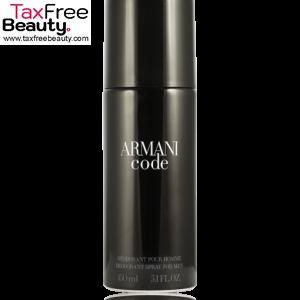 ארמני קוד דאודורנט ספריי 150 מל, giorgio armani Giorgio Armani Code Pour Homme Deodorant Spray 150 ml