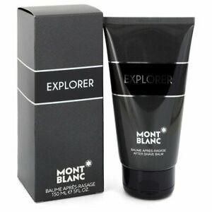 """Montblanc Explorer After Shave Balm 150ml מון בלאן אקספלורר  משחת אפטר שייב ן, 150 מ""""ל"""