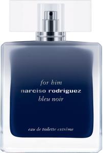 "Narciso Rodriguez For Him Bleu Noir Extreme Eau De Toilette 100ML TESTER בלו נואר אקסטרים אדט לגבר 100 מ""ל נרסיסו רודריגז"