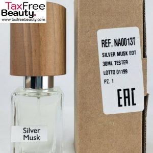 Nasomatto Silver Musk Extrait DP 30 ml Tester בושם לאישה נאסומאטו סילבר מאסק