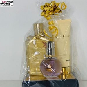 lanvin women EDP 50ml Gift Set BL fendi 75ml phromone fragranc splash