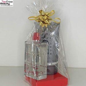 Hugo Boss men Gift Set hugo Boss Orange -100 ML EDT hugo boss shower gel 150ml