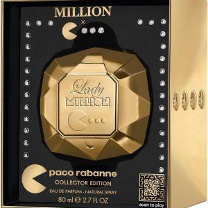 """פאקו רבאן ליידי מיליון מהדורת פק-מן לאספנים א.ד.פ 80 מ""""ל – Paco Rabanne Lady Million Pac-Man Collector Edition Eau de Parfum 80ml"""