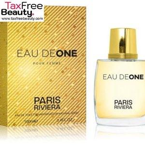 "Paris Riviera Eau De One 100ml EDT for Women פריז ריביירה או דה וואן בושם לאשה א.ד.ט 100 מ""ל"