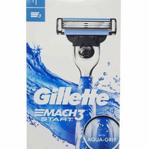 Gillette Mach3 Turbo 1 Up Shaver Start ג'ילט מאך 3 סטארט מכ'+סכין
