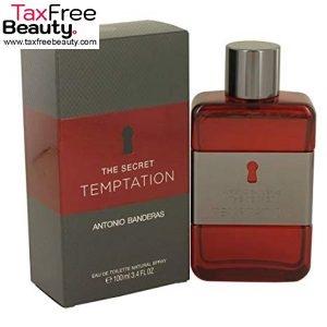 Antonio Banderas The Secret Temptation 100 ML EDT For Men אנטוניו בנדרס דה סיקרט טמטשיון אדט 100 מ״ל