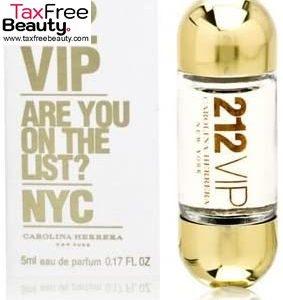 Carolina Herrera 212 VIP Women  Eau de Parfum Miniature 5 ml