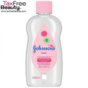 "Johnson's Baby Oil 200ml ג'ונסון שמן תינוקות 200 מ""ל"