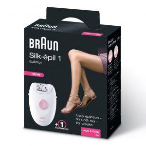 בראון – מסיר שיער סילק אפיל דגם   1370    Braun Silk Epil 1 Legs and Body Epilator