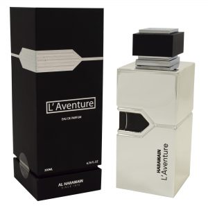 "L'Aventure by Al Haramain, 200ml EDP Spray for Men אלחרמין ל'אוונטור לגבר אדפ 200 מ""ל"