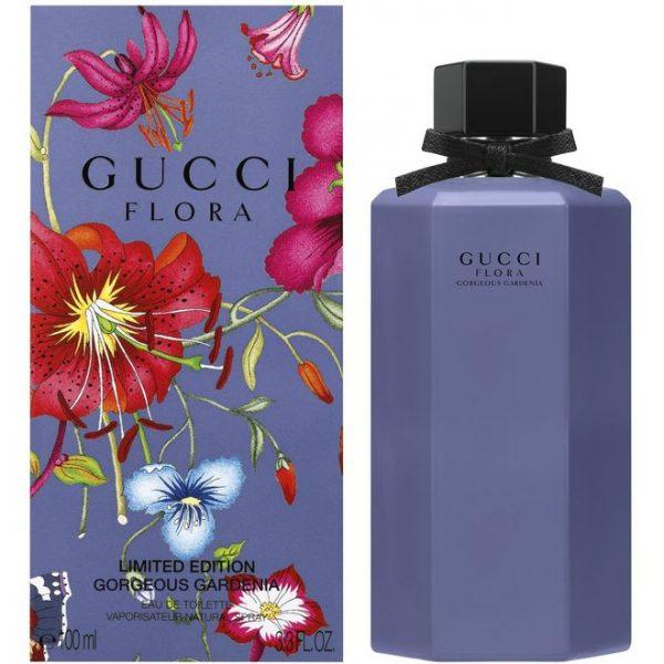 Gucci Flora Gorgeous Gardenia Limited Edition EDT 100ml גוצ'י פלורה גורג'ס גרדניה אדט לאישה 100 מ